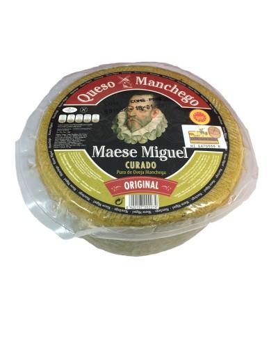 Queso Manchego con D.O. Curado Maese Miguel