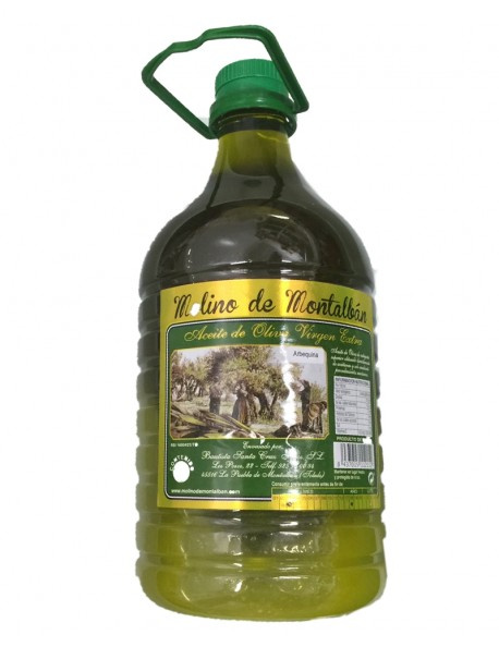 Arbequina 3 litros Molino de Montalban