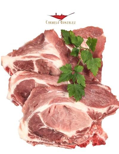 Chuletas de Aguja de cerdo de raza duroc - ¿quieres comprar al mejor precio?