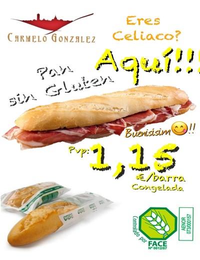 """BARRA DE Pan sin gluten """"betina"""""""