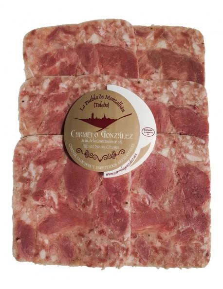 Lonchas finas de queso de Cerdo (Chicharrón Cocido)
