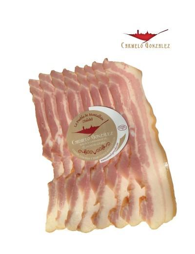Bacon ahumado al corte