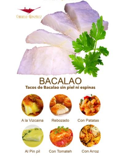 Tacos de Bacalao Salado