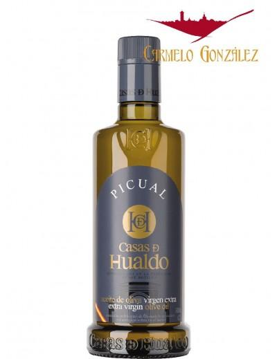 Aceite de Oliva picual virgen Extra CASAS DE HUALDO