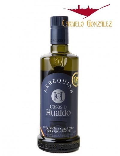 Aceite de Oliva arbequina virgen Extra casas de hualdo