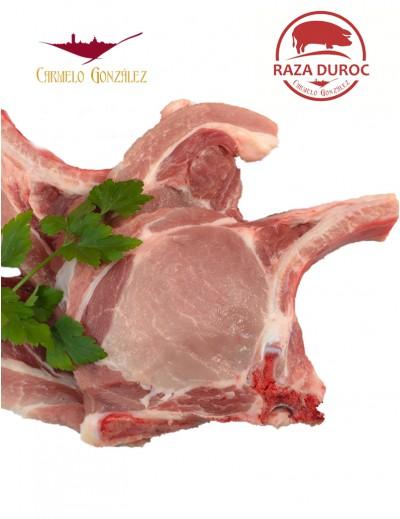 Chuletas de Lomo de Cerdo Duroc