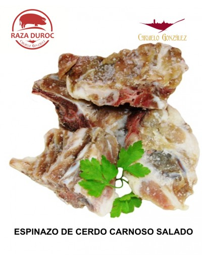 Espinazo DE CERDO Salado en Trozos