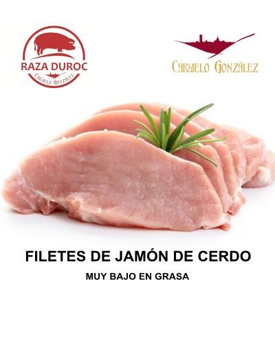 COMPRAR ON LINE filetes de jamon cerdo duroc BAJO EN GRASA AL MEJOR PRECIO CON SERVICIO A DOMICILIO