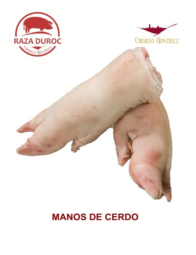 COMPRAR MANOS O PATAS de cerdo DUROC MUY FRESCAS PARA ELABORAR TU RECETA DE CALLOS CON CARNICERIA SERVICIO A DOMICILIO