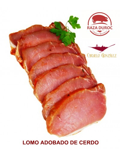 COMPRAR LOMO ADOBADO DE PUEBLO de cerdo DUROC MUY FRESCA CON CARNICERIA SERVICIO A DOMICILIO