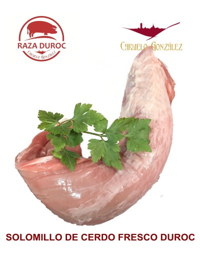 Solomillo de Cerdo Duroc Fileteado