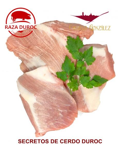 Filetes de Secretos de Cerdo Duroc