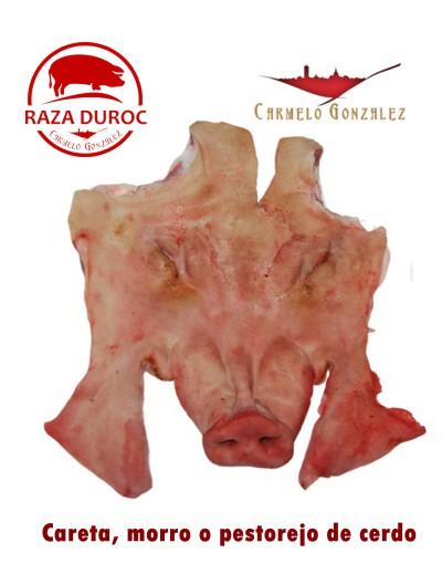 Careta, Morro o Pestorejo de cerdo fresco