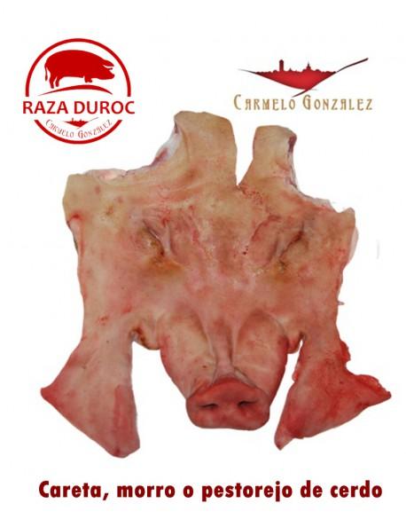 Careta, Morro o Pestorejo Extremeño de cerdo fresco