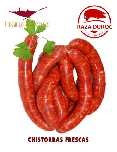 Longaniza fresca roja (Chistorras Frescas)