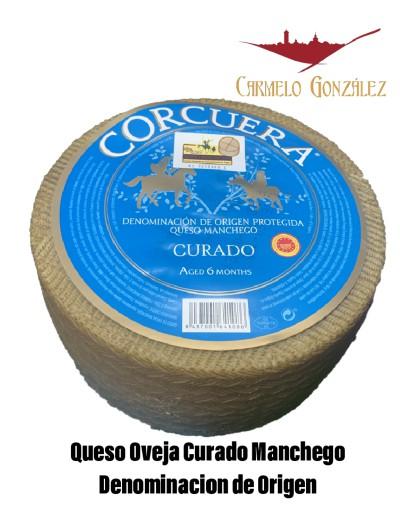 COMPRAR Queso OVEJA Manchego D. Origen Curado Corcuera