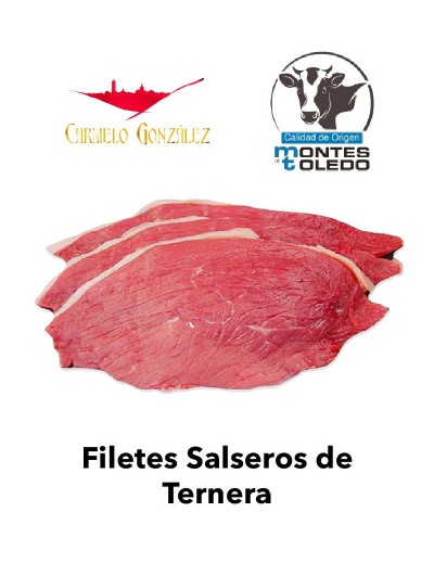 Filetes salseros de Ternera