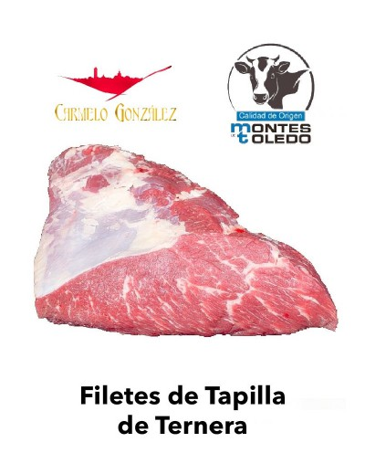 Filetes de tapilla de Ternera