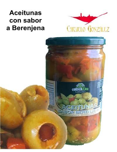 Aceituna con sabor a berenjenas de Almagro