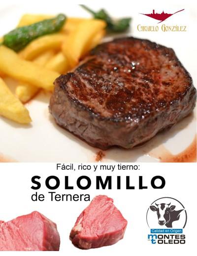 comprar solomillo de Ternera MONTES DE TOLEDO