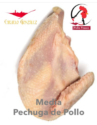 comprar media pechuga para caldo de pollo fresco entero on line