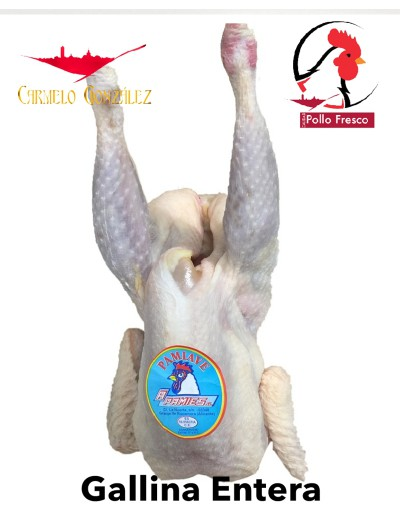 comprar gallina para caldo de pollo fresco entero on line carmelo gonzalez servicio a domicilio on line