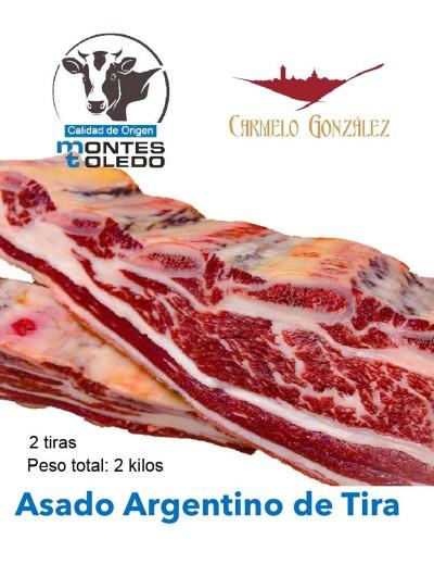 asado argentino de tira · compra al mejor precio