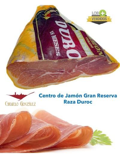 Centro de jamon curado duroc carmelo