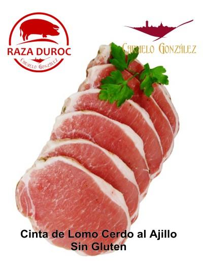 cinta de lomo cerdo al ajillo un plao de facil cocinado a la plancha y listo