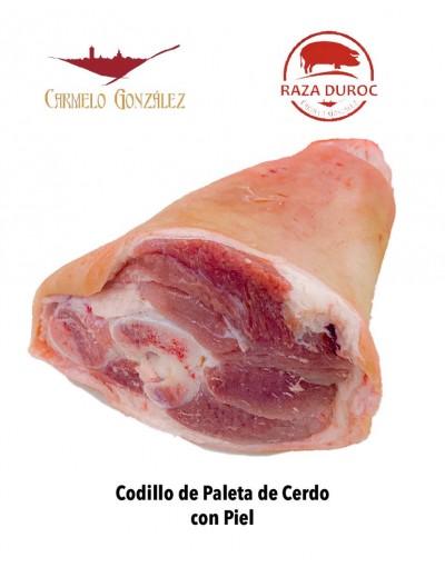 codillo de paleta cerdo duroc fresco para asar