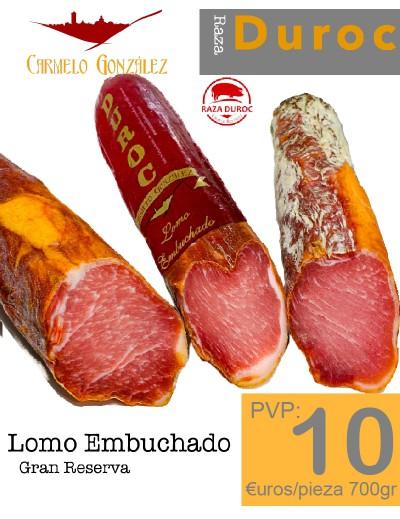 Caña de Lomo Embuchado Duroc