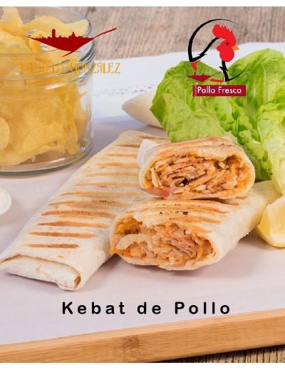 comprar kebat de pollo incluye la salsa