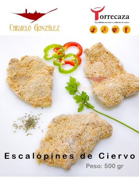 Escalopines, Filetes de Ciervo empanados