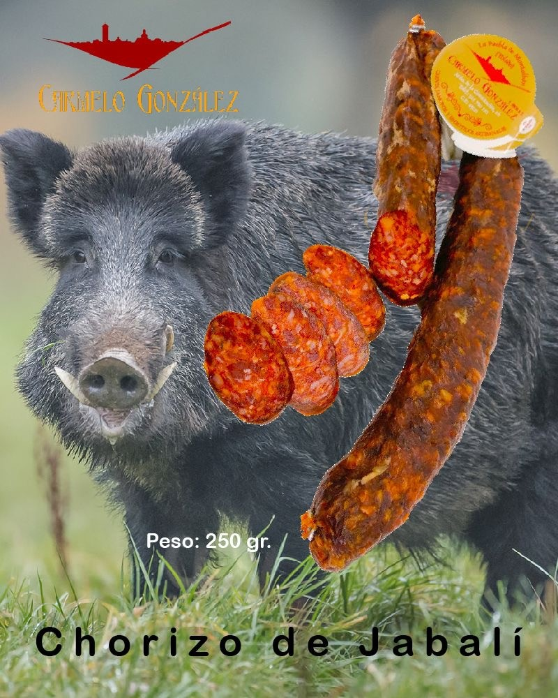 Comprar Al Mejor Precio Embutido Chorizo Curado De Jabali