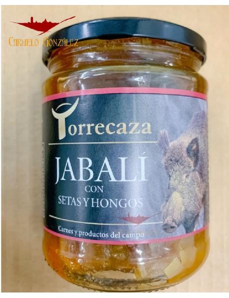 comprar JABALÍ CON SETAS Y HONGOS elaborado por TORRECAZA en la Provincia de Toledo