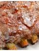COSTILLAR RIBS CON SALSA AMERICANA BBQ BARBACOA