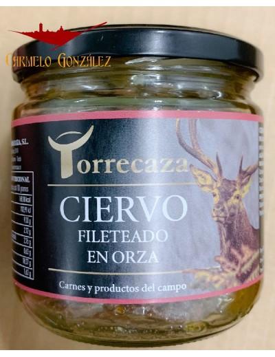 comprar CIERVO FILETEADO EN ORZA EN CONSERVA