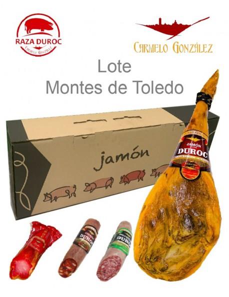 lote BARATO DE JAMON DUROC CON LOMO Y EMBUTIDOS DE TOLEDO