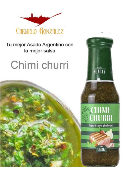 SALSA CHIMI-CHURRI ESPECIAL ASADOS ARGENTINOS