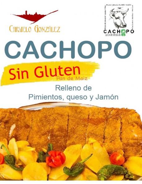 Comprar el mejor Cachopo SIN GLUTEN de TERNERA ELABORADO CON PAN DE MAIZ SI ERES CELIACO COMPARTE CON TODA LA FAMILIA UN EXQUIS