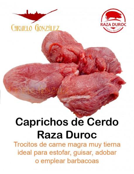 Los caprichos también conocidos por la carne del oído o también Espejo; Es una tajada magra del Cerdo Duroc