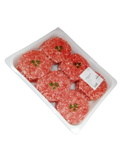 Hamburguesas 16 unidades burguer meat