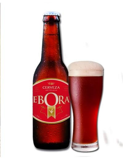 Cerveza Ebora Roja