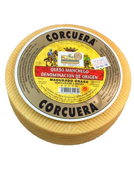 Queso Manchego con D.O. Semicurado Corcuera